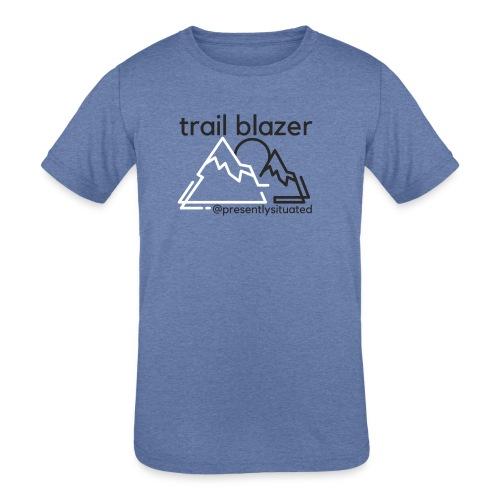 Trail blazer - Kids' Tri-Blend T-Shirt