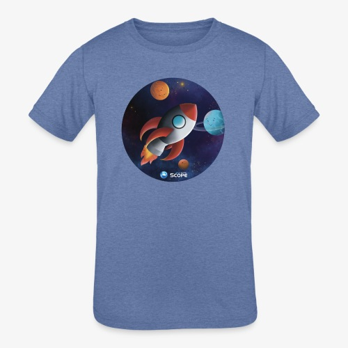Solar System Scope : Little Space Explorer - Kids' Tri-Blend T-Shirt
