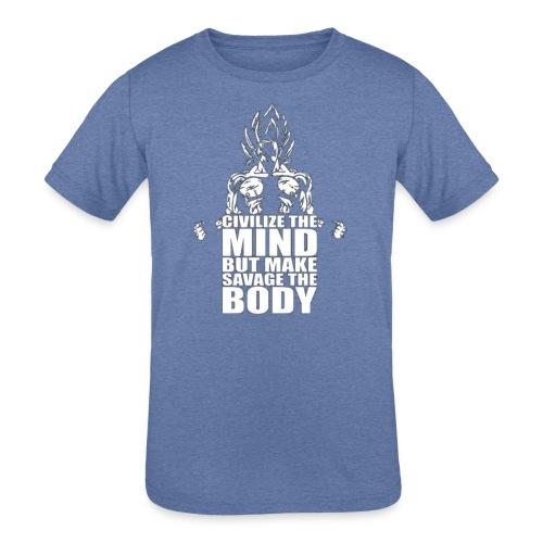 Dbz C Shirt - Kids' Tri-Blend T-Shirt