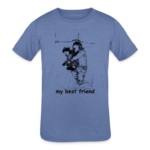 My Best Friend (baby) - Kids' Tri-Blend T-Shirt