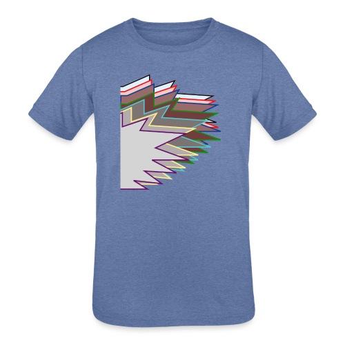 The Choleric - Kids' Tri-Blend T-Shirt
