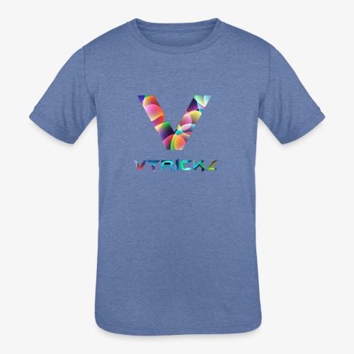 New logo - Kids' Tri-Blend T-Shirt