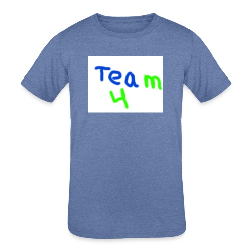 logo - Kids' Tri-Blend T-Shirt