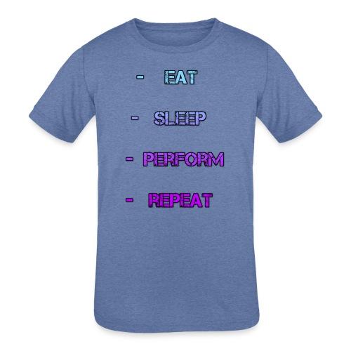littlelaurzs productions T-shirt - Kids' Tri-Blend T-Shirt
