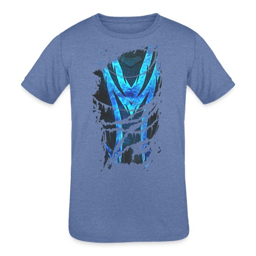 Vincent Macleod torn suit - Kids' Tri-Blend T-Shirt