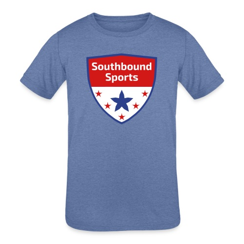 Southbound Sports Crest Logo - Kids' Tri-Blend T-Shirt
