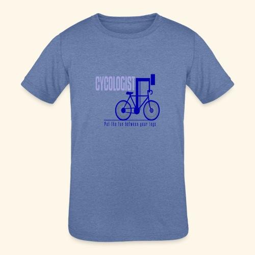 Cycologist T Shirt for Men, Women, Kids, Babies - Kids' Tri-Blend T-Shirt