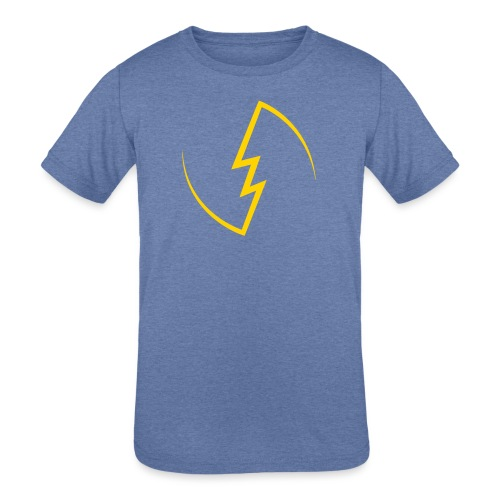 Electric Spark - Kids' Tri-Blend T-Shirt