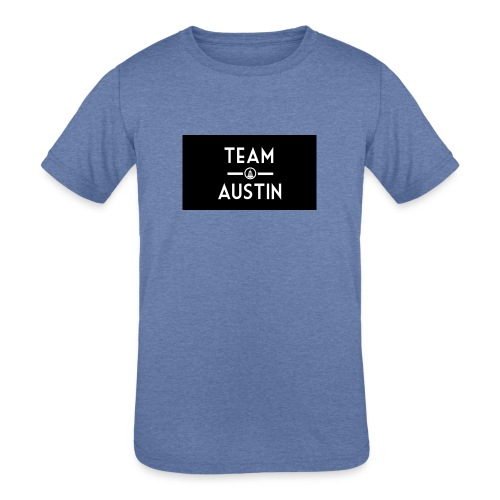 Team Austin Youtube Fan Base - Kids' Tri-Blend T-Shirt