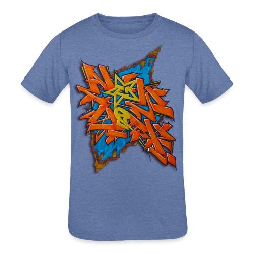 Artgomez14 - NYG Design - Kids' Tri-Blend T-Shirt