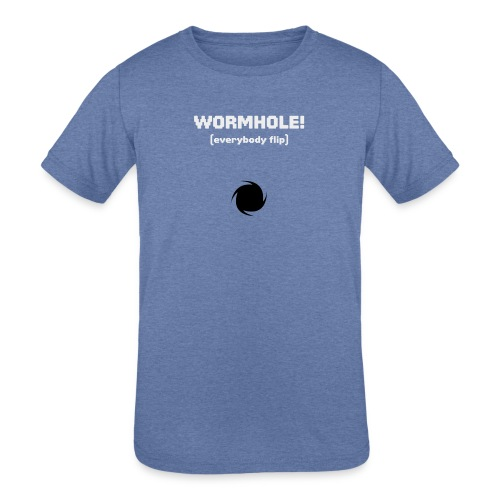 Spaceteam Wormhole! - Kids' Tri-Blend T-Shirt