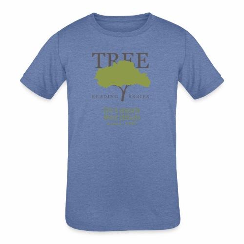 Tree Reading Swag - Kids' Tri-Blend T-Shirt
