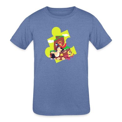 banjo - Kids' Tri-Blend T-Shirt