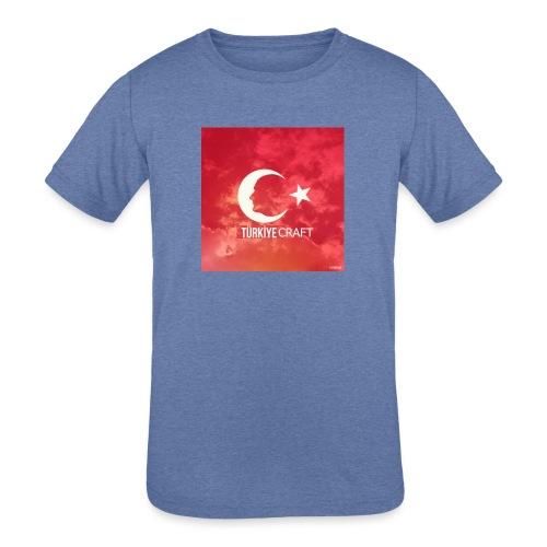TurkiyeCraft - Kids' Tri-Blend T-Shirt