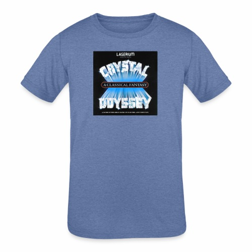 Laserium Crystal Osyssey - Kids' Tri-Blend T-Shirt