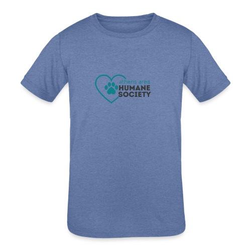 AAHS LOGO - Kids' Tri-Blend T-Shirt