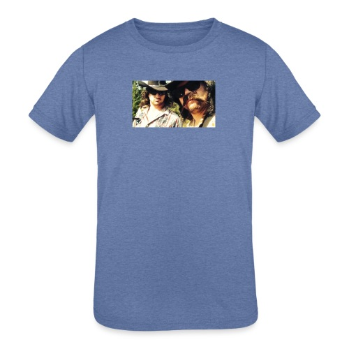 Jaw Thrust Cover Art - Kids' Tri-Blend T-Shirt