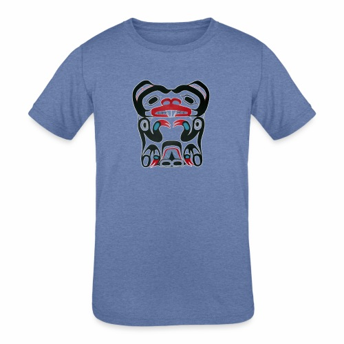 Eager Beaver - Kids' Tri-Blend T-Shirt
