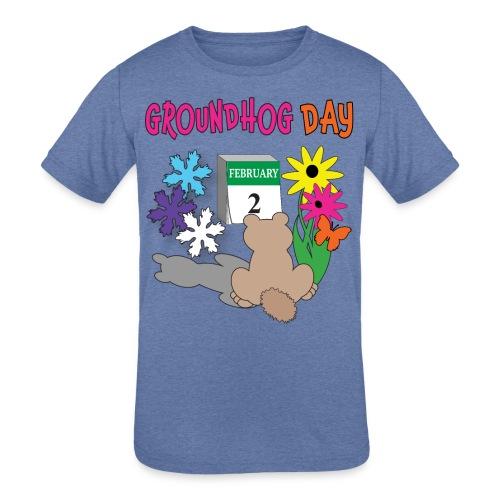 Groundhog Day Dilemma - Kids' Tri-Blend T-Shirt