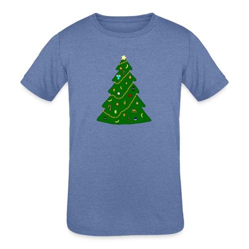 Christmas Tree For Monkey - Kids' Tri-Blend T-Shirt