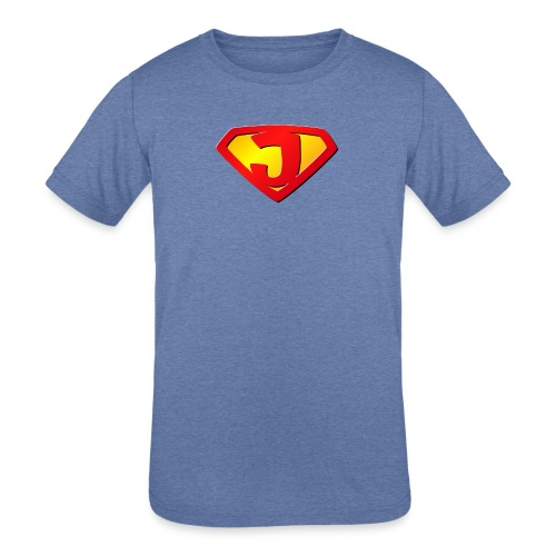 super J - Kids' Tri-Blend T-Shirt