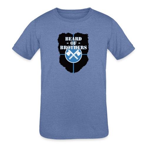 Beard Of Brothers - Kids' Tri-Blend T-Shirt
