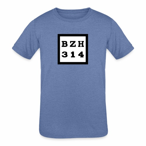 BZH314 Games Big Logo - Kids' Tri-Blend T-Shirt