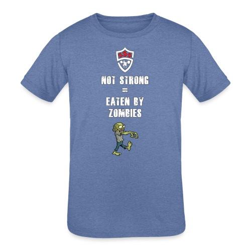 Eaten By Zombies - Kids' Tri-Blend T-Shirt