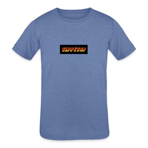 clothing brand logo - Kids' Tri-Blend T-Shirt