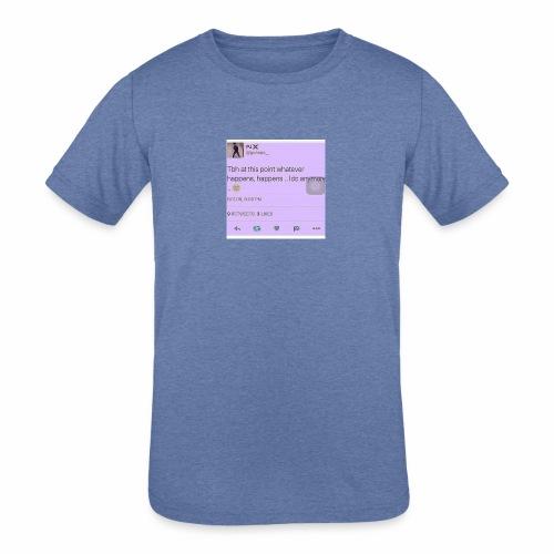 Idc anymore - Kids' Tri-Blend T-Shirt