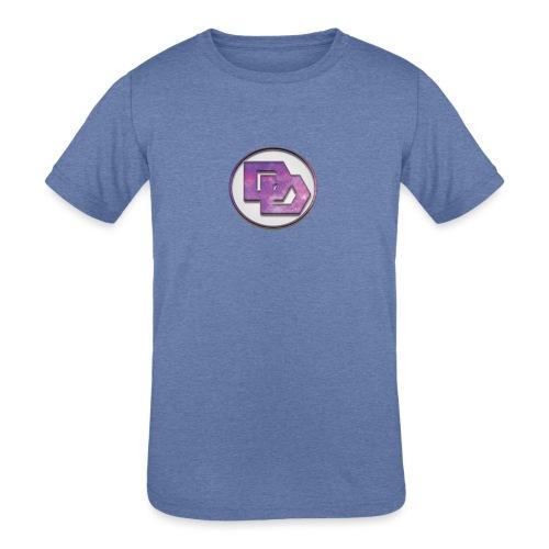DerpDagg Logo - Kids' Tri-Blend T-Shirt