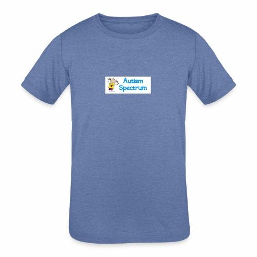 Autism Spectrum - Kids' Tri-Blend T-Shirt