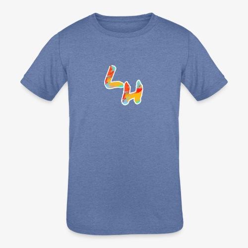 Los Hermanos Logo - Kids' Tri-Blend T-Shirt