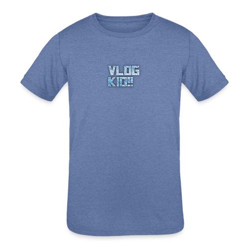 Vlog Kid - Kids' Tri-Blend T-Shirt