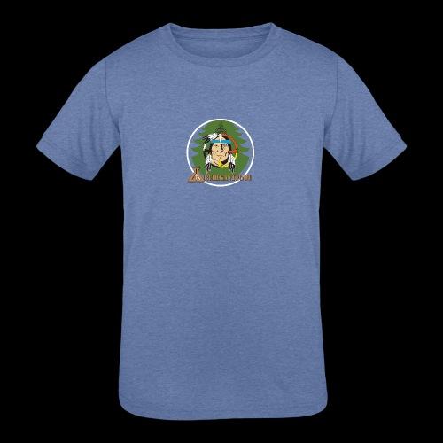 Archigantegou Logo Color - Kids' Tri-Blend T-Shirt
