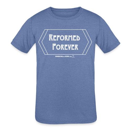 Réformé pour toujours - T-shirt triple mélange Enfant