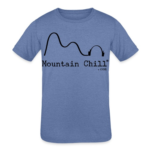 Mountain Chill Radio Official - Kids' Tri-Blend T-Shirt