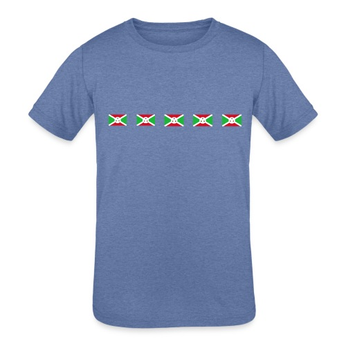 bi png - Kids' Tri-Blend T-Shirt