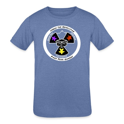 Pikes Peak Gamers Convention 2019 - Clothing - Kids' Tri-Blend T-Shirt
