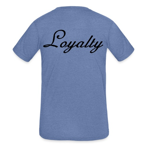 Loyalty Brand Items - Black Color - Kids' Tri-Blend T-Shirt