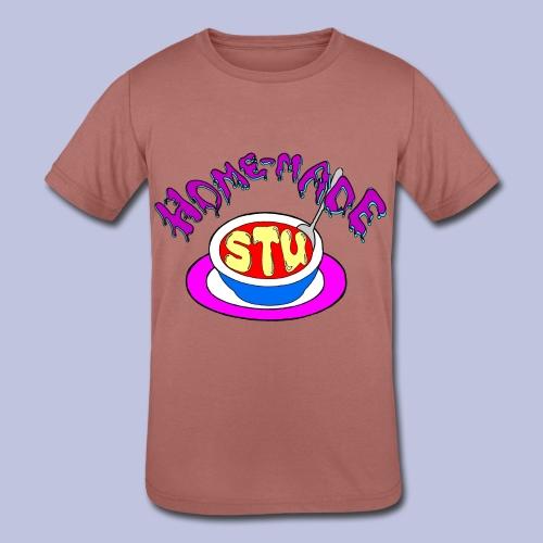 home made stu Logo - Kids' Tri-Blend T-Shirt
