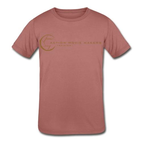 AMMT Logo Modern Look - Kids' Tri-Blend T-Shirt