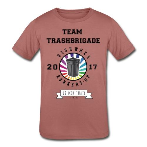 TrashBrigade 2017 - Kids' Tri-Blend T-Shirt