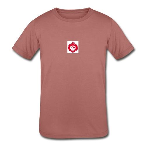 E JUST LION - Kids' Tri-Blend T-Shirt