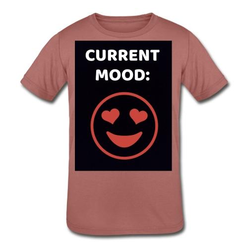 Love current mood by @lovesaccessories - Kids' Tri-Blend T-Shirt