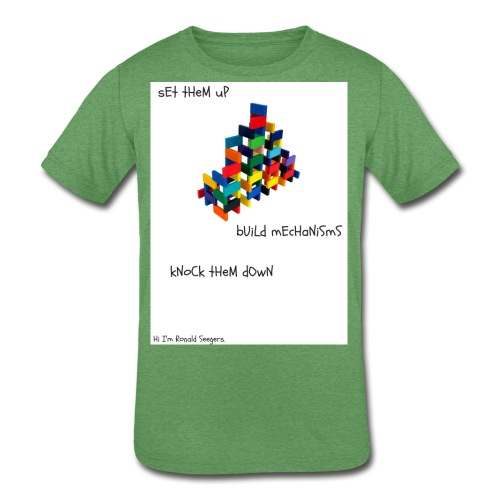 Hi I'm Ronald Seegers Collection-dominoes - Kids' Tri-Blend T-Shirt