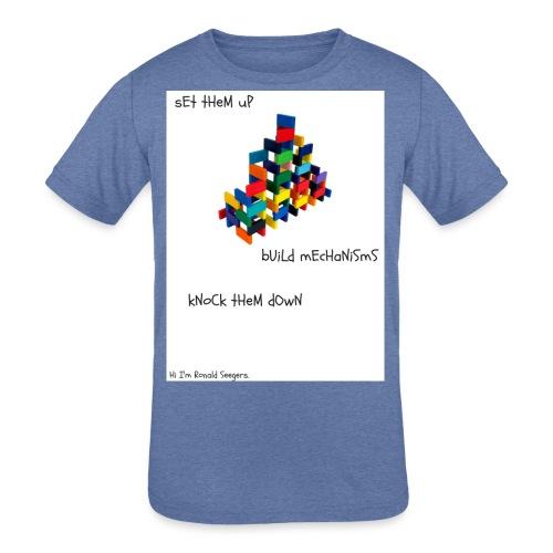 Hi I'm Ronald Seegers Collection-dominoes - Kids' Tri-Blend T-Shirt