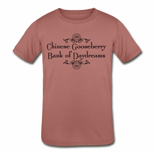 Chinese Gosseberry Bank of Daydreams - Kids' Tri-Blend T-Shirt