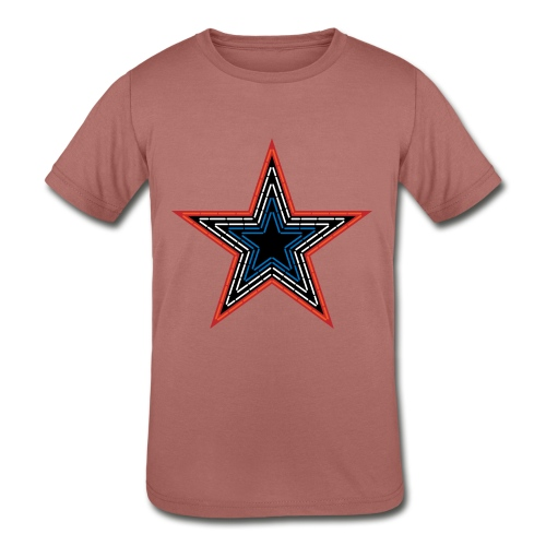 Roanoke Virginia Pride Mill Mountain Star - Kids' Tri-Blend T-Shirt