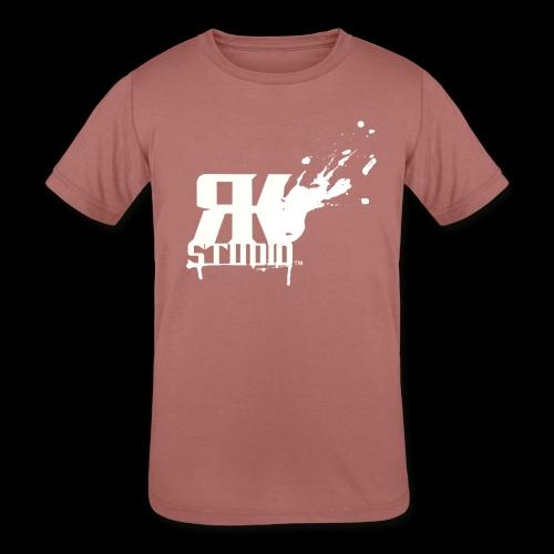 RKStudio White Logo Version - Kids' Tri-Blend T-Shirt